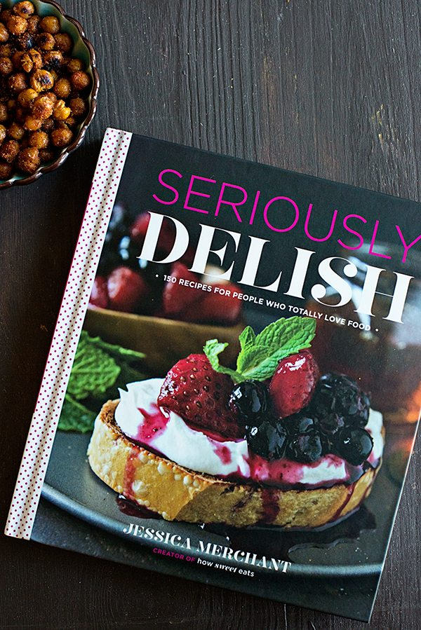 Seriously Delish Cookbook Review on dineanddish.net