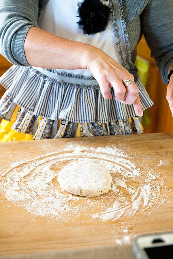 Ring-around-pie-pan