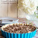 Caramel Custard Pie with Chocolate Meringue Recipe
