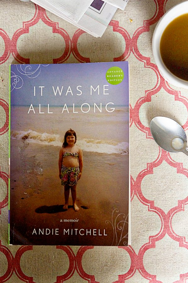 It Was Me All Along for the dineanddish.net Traveling Book Club selection