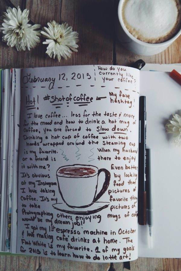 Journaling with Life Captured Inc on dineanddish.net