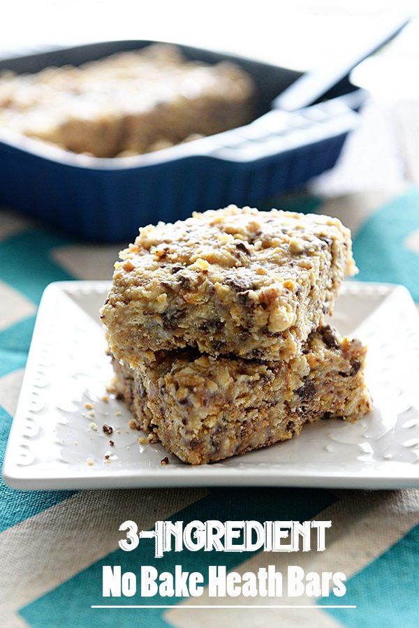 3-Ingredient No Bake Heath Bar Recipe