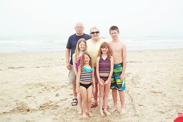 The Doyles and Wogans at South Padre Island, TX
