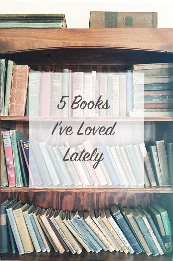 A List of 5 Books I've Loved Reading Lately on dineanddish.net