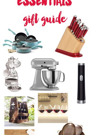 Kitchen and Home Essentials Gift Guide plus a $250 Overstock.com Giveaway on dineanddish.net