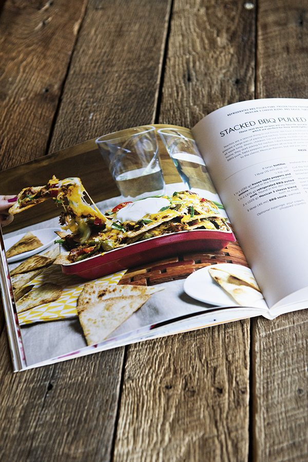 Inside the Express Lane Cooking Cookbook