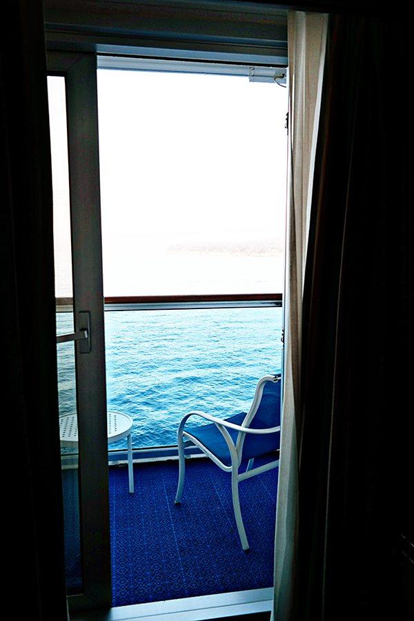 Princess Cruise Private Balcony Room