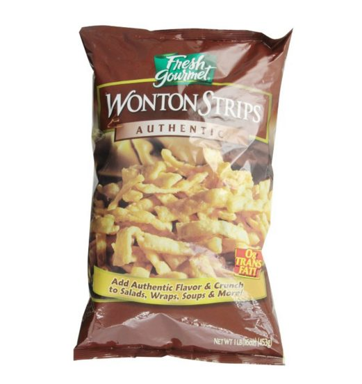Fried Won Ton Strips