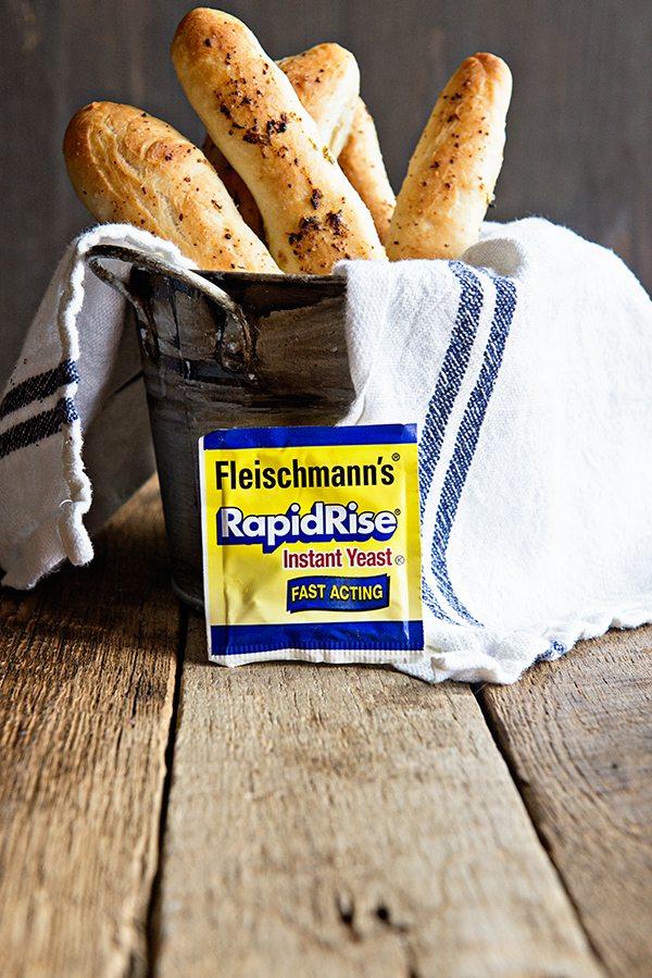 Beginner Breadsticks Recipe in the Bread Machine on dineanddish.net