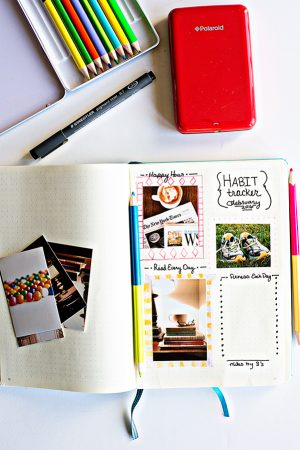 Polaroid Zip Instant Mobile Printer - my favorite printer for bullet journaling!