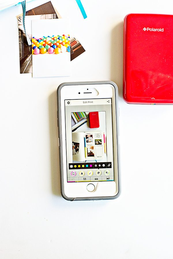 Why I love this polaroid printer for bullet journaling on dineanddish.net