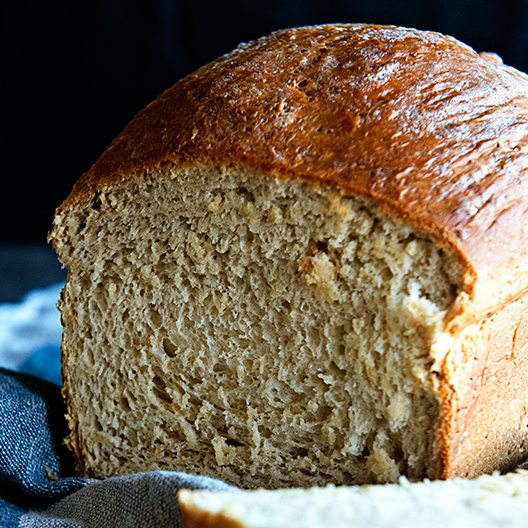 Honey Oatmeal Bread recipe on dineanddish.net
