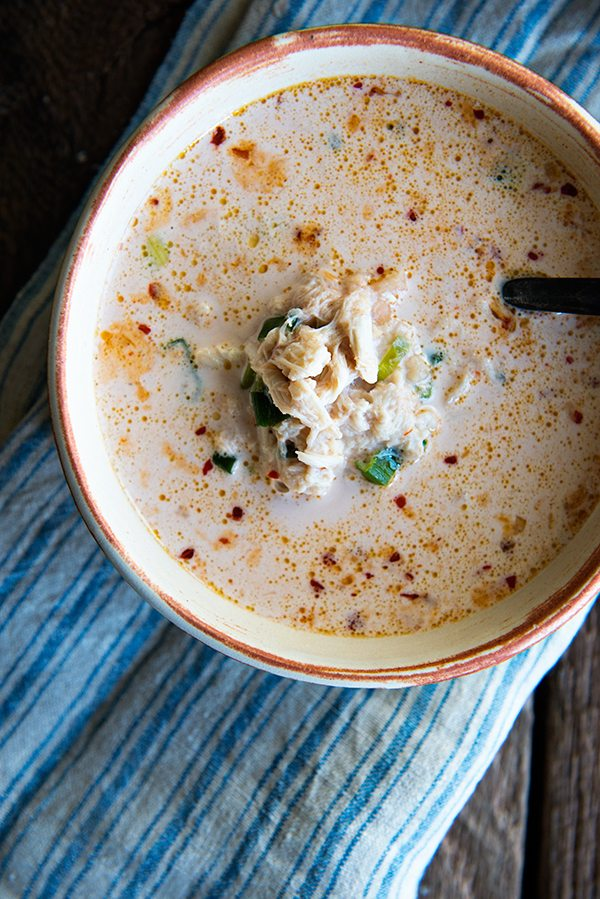 Crab Bisque for Two from Dinner for Two Cookbook