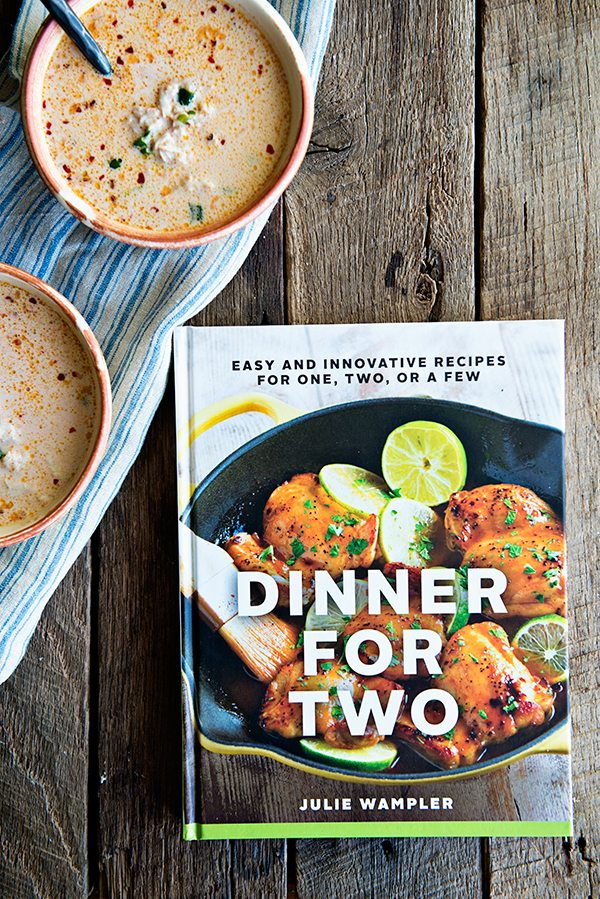 Dinner for 2 by Julie Wampler review on dineanddish.net