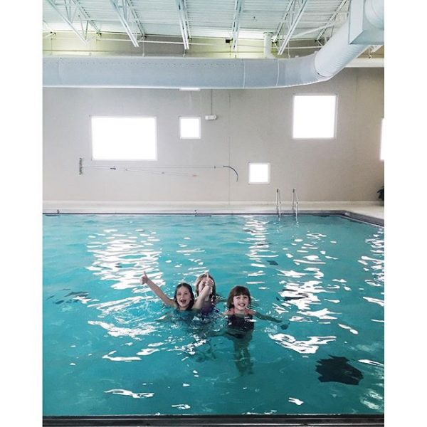 Indoor Pool at Healthridge