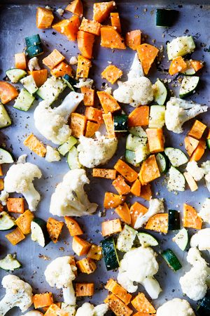 Simple Roasted Vegetable Recipe on dineanddish.net