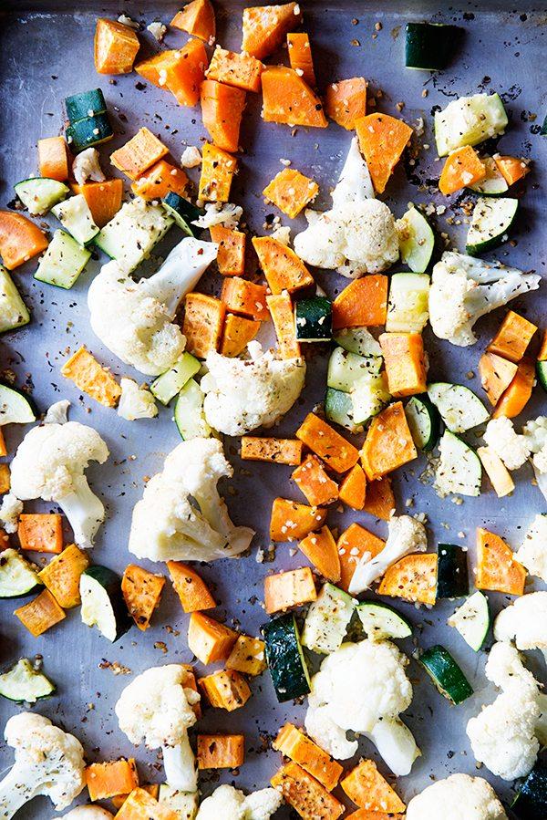 Simple Roasted Vegetable Recipe on dineanddish.net