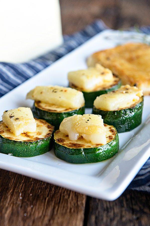 Greek Saganaki Appetizer Recipe from dineanddish.net
