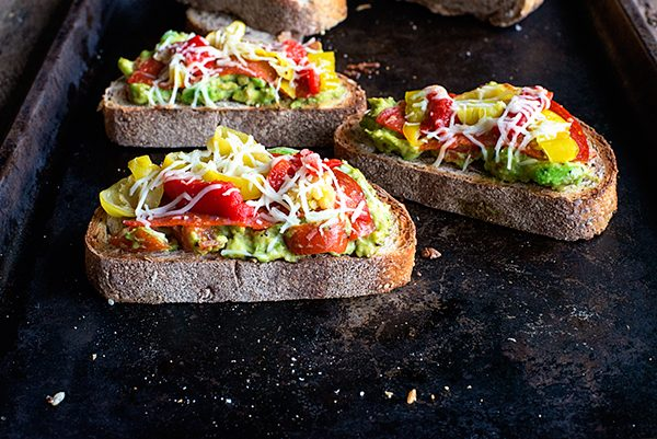 Lunchtime Avocado Toast from dineanddish.net