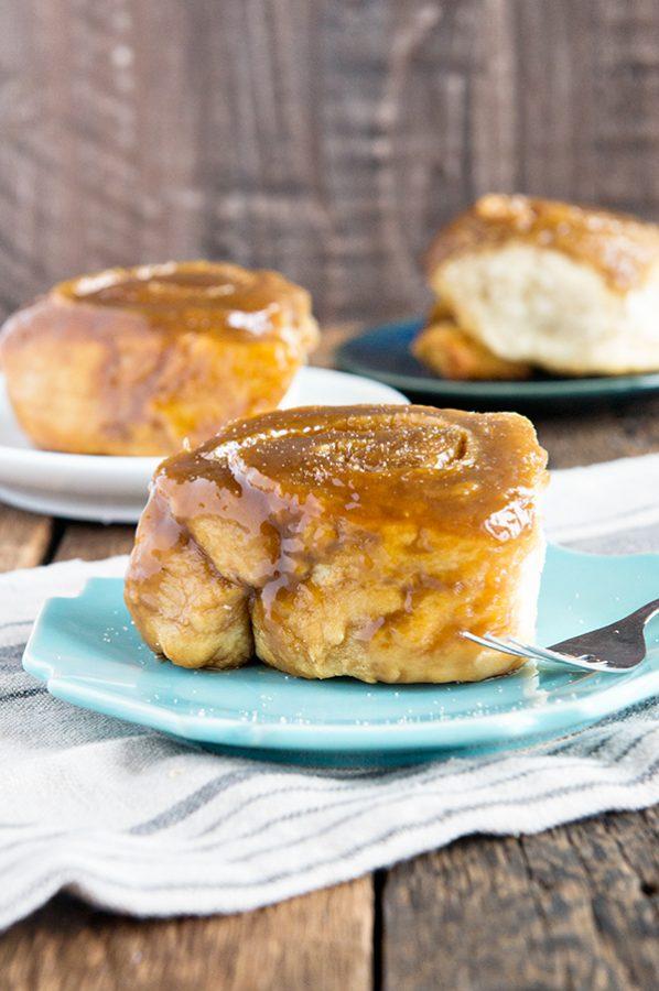Salted Caramel Rolls Recipe