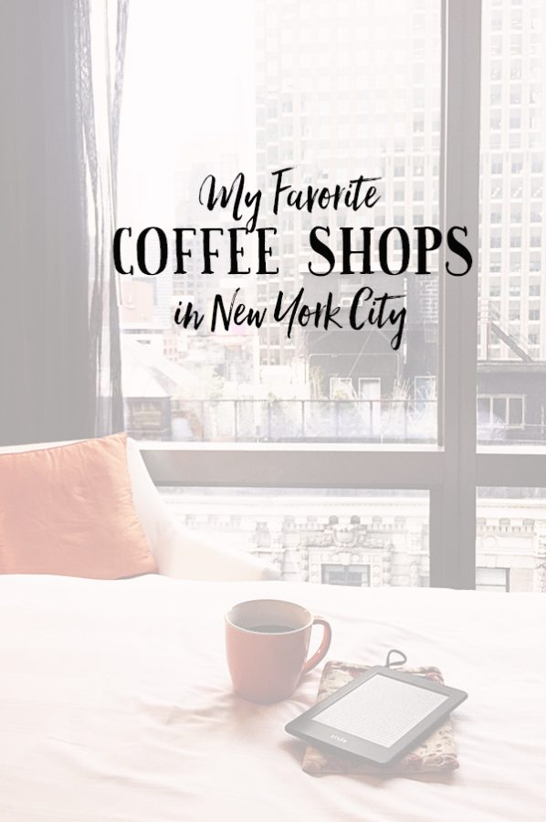 A look at my favorite coffee shops in New York City on dineanddish.net