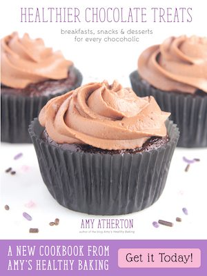 Healthier Chocolate Treats Cookbook by Amy Atherton