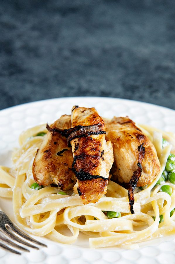 Chicken and Caramelized Onion Pasta Recipe