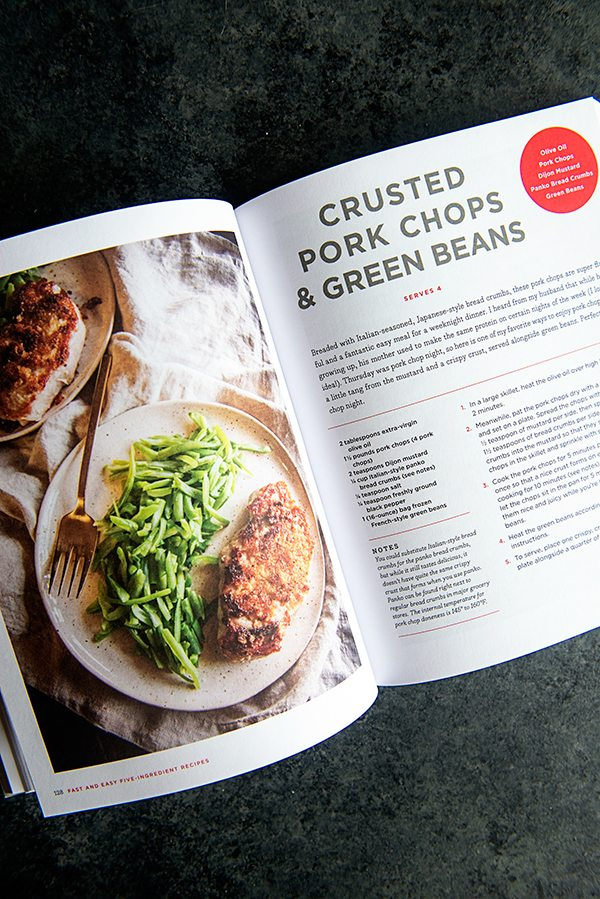 Five Ingredient Recipes Cookbook Review