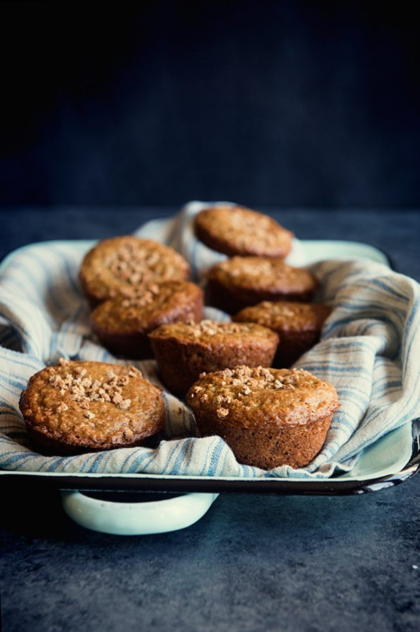Crunchy Grape Nuts Muffins Recipe from dineanddish.net