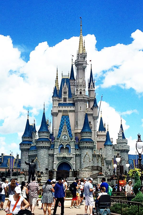 Magic Kingdom Castle Disney Vacation