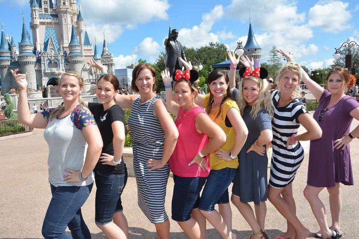 Bloggers at Magic Kingdom