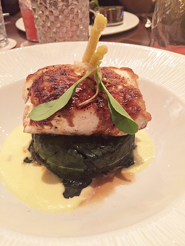 Sustainable Seafood at Tiffin's Restaurant at Animal Kingdom