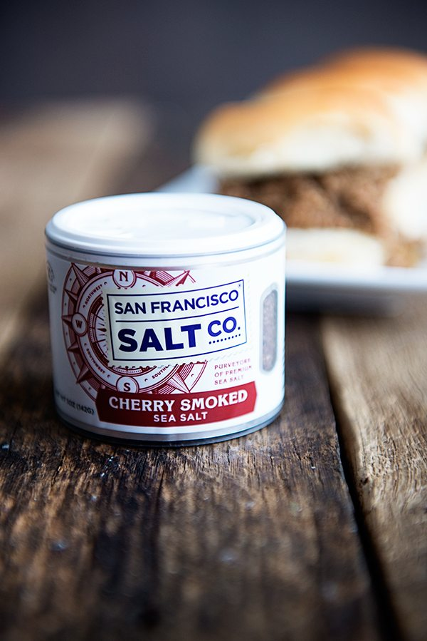 San Francisco Salt Co Cherry Smoked Sea Salt