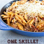 One Skillet Beefy Tuscan Pasta