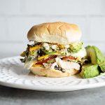California Cobb Salad Sandwich