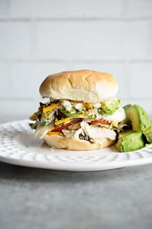 California Cobb Salad Sandwich