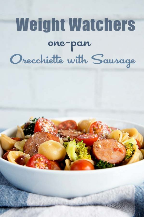 Weight Watchers Recipe Lemony One-Pan Orecchiette with Sausage and Broccoli