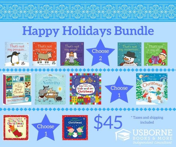 Usborne Books Holiday Book Bundle Giveaway