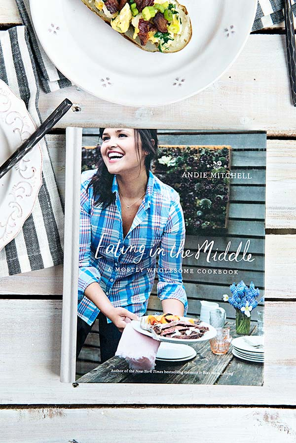 Eating in the Middle a cookbook by Andie Mitchell