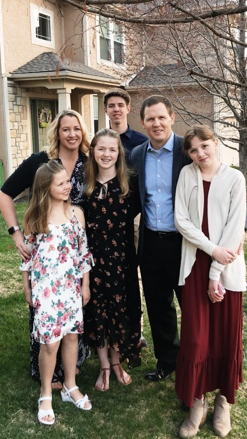 Kristen Doyle and family from dineanddish.net