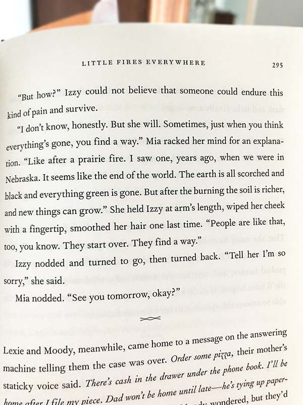 Quote from Little Fires Everywhere by Celeste Ng