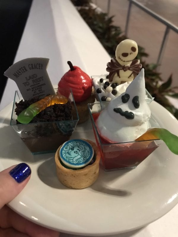 Not so Scary HAlloween Dessert Party