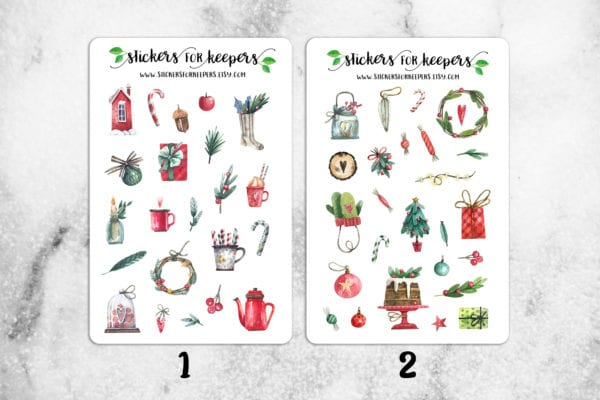 Christmas Stickers from Stickers for Keepers