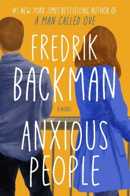 cover of Anxious People by Fredrik Backman