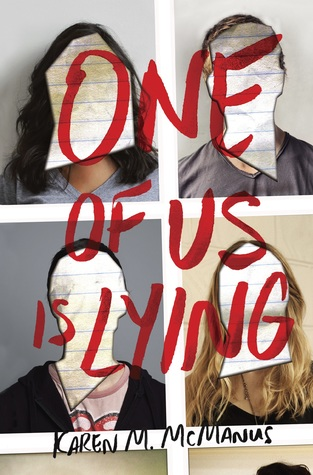 book cover one of us is lying